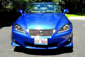 lexus is electric car road test review 2014 lexus is250c f sport is top down