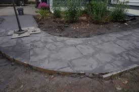 Flagstone Stamped Concrete Pictures by Stamped Concrete Northwest Decorative Concrete Commercial And