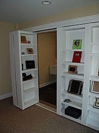 Cool Closet Doors Bookshelf Closet Doors That Lead To The Laundry Room Diy
