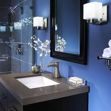navy blue bathroom dark and white dance drumming winsome oranges