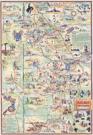 south dakota road map 1940 map of the black of south dakota the state