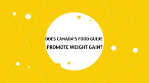 does canada u0027s food guide promote weight gain on vimeo