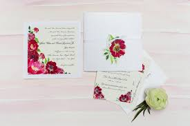 watercolor flower wedding invitations momental designsmomental designs