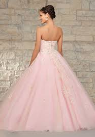 buy tailor made princess sweetheart floor length applique pink