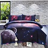Space Themed Bedding Amazon Com Esydream Home Hipster Galaxy Bedding Sets Universe