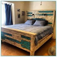 Pallet Wood Headboard Wood Headboard And Footboard