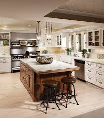 kitchen inspiring u shape kitchen design ideas using oak wood