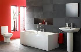 bathroom design marvelous red bathroom decor black and white