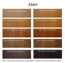 kitchen cabinet stain colors on alder wine country cabinet santa barbara staining cabinets