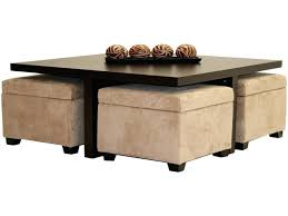 Storage Stools Ottomans Stools With Storage Coffee Tables With Stools Coffee Table With