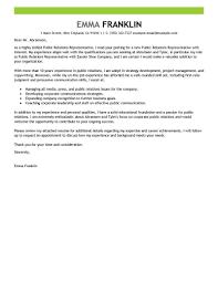 best internship cover letters best public relations cover letter
