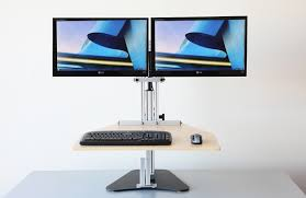 dual monitor standing desk 80 fascinating ideas on lower the