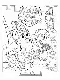 veggie tales god made you special coloring pages cartoon