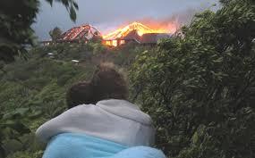 necker island fire on necker island virgin