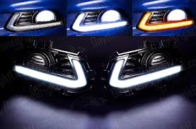ford fusion drive bright ford fusion mondeo led daytime running light kit