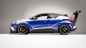 toyota chr a 600 horsepower toyota c hr could only happen at sema roadshow