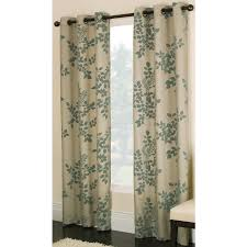 Light Green Curtains by Shop Allen Roth Waterbury 84 In Blue Cotton Grommet Light