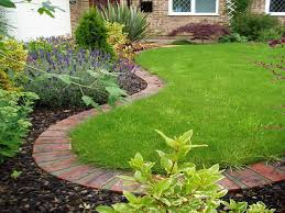 Backyard Grass Ideas Great Lawn And Garden Ideas 17 Best Ideas About Lawn Edging On