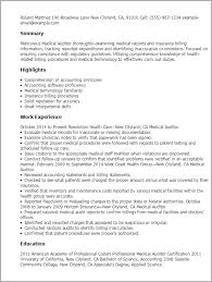 Auditor Resume Sample by Talent Specialist Cover Letter