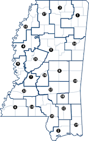 federal circuit court map state of mississippi judiciary circuit court
