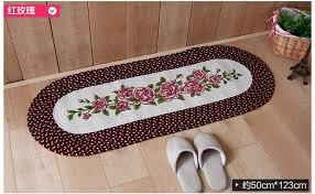 new country style balcony hallway mat round bedroom rugs non slip
