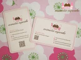 I Need Business Cards Today Cosmetic Cupcake Cosmetic Cupcake Business Cards By The Distillery