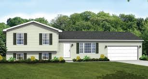 tri level home custom home floor plans the brighton split level wayne homes