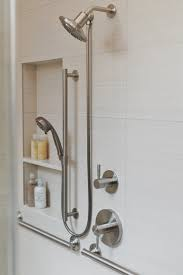 Universal Design Bathrooms Before U0026 After An Accessible Master Bathroom Is Created Using