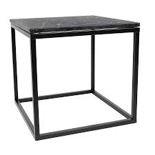 Contemporary End Tables Temahome Prairie Modern End Table Blk Marble Eurway