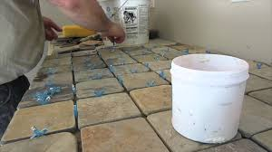 Tile Counters Slate Tile Counter Top Installation Youtube
