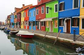 colorful isle a day in burano italy the world is a book