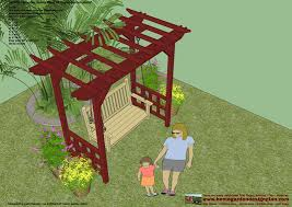 arbor swing plans free garden arbor woodworking plans home outdoor decoration