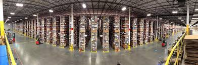 a first look inside amazon u0027s gleaming gigantic warehouse in fall