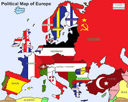 Europe Map Ww1 If The Central Powers Won Wwi By Madgerman123 On Deviantart