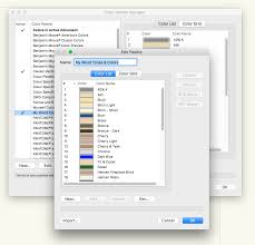 color palette manager custom color creation bug mac
