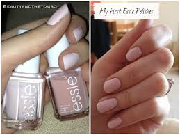 my first essie nail polishes beauty u0026 the tomboy