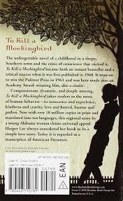 To Kill A Mockingbird Barnes And Noble To Kill A Mockingbird Harper Lee 9780446310789 Amazon Com Books