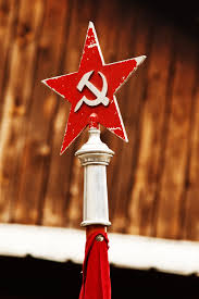Soviet Russian Flag Free Images Retro Star Old Sign Red Hammer Symbol
