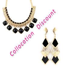 color rhinestone necklace images Elegant big imitation rhinestone gold color alloy jewelry choker jpg