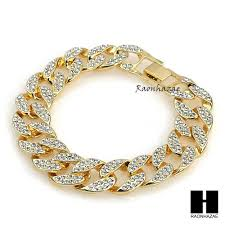 chain bracelet with diamonds images Hip hop diamond techno pave watch 30 quot iced out cuban stone chain jpg