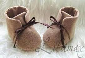 Sho Bayi cara membuat kerajinan tangan dari kain flanel sepatu bayi