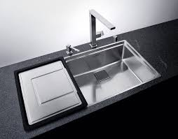 Modern Kitchen Sinks by Kitchen Modern Kitchen Decoration Using Black Slated Kitchen