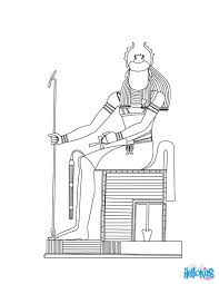 gods and goddesses of ancient egypt coloring pages coloring