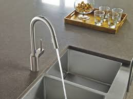 Pulldown Kitchen Faucets Faucet Com 7565ec In Chrome By Moen