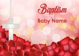 baptism invitation templates download free vector art stock