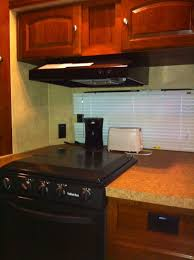 cer trailer kitchen ideas 248 best travel trailer storage ideas images on travel