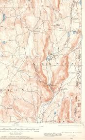 Milb Map Millbrook Ny Ct Quadrangle