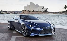 lexus dark blue leus lf lc blue concept lexus hd car images tuning tires