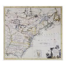 colonial america map colonial america map posters zazzle