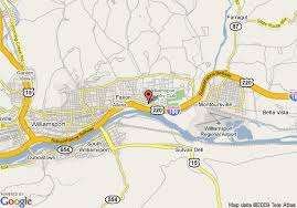 map of williamsport pa map of candlewood suites williamsport williamsport
